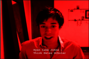 We just completed three new promotional spots for the ThinkSwiss Scholarship  program. They feature two former recipients of the scholarship and in keeping with the student budget aesthetic, we used skype to interview both Ryan Luke Johns and Hilary Landfried.